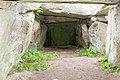 Tustrup gravpladsen (Norddjurs Kommune).Jættestue.Gravkammer.Højre side.47886.ajb.jpg