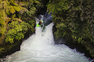 Kaituna River - Image: Tutea falls