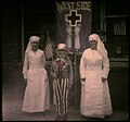 """Two nurses and child dressed as """"Uncle Sam"""" in WWI Support Parade, Pasadena California (2678234564).jpg"""