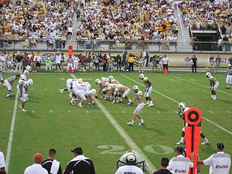 2007 UCF Knights football team - UCF on offense against Texas