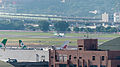 UNI Air ATR 72-600 B-17010 Taking off from Taipei Songshan Airport 20141002.jpg