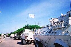UNOSOM Somalia tanks