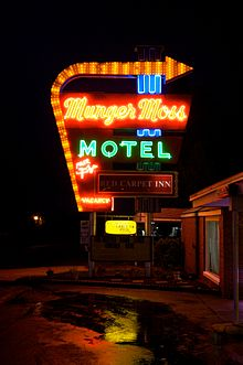 Motel  In Fontana Off Of Sierra