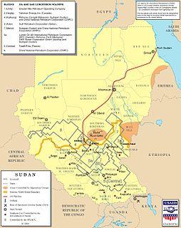 Greater Nile Oil Pipeline