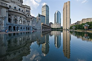 Christian Science Church and the Reflecting Po...