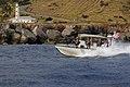 USCG patrol boat passes a Guantanamo light-house, 2011-01-14 -b.jpg