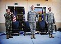 USSOCOM commander Eric Olson presents Airman's Medals to airmen.JPG