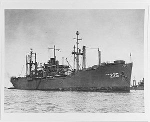 USS Bingham (APA-225) - USS Bingham (APA-225), 1945-46 photograph.