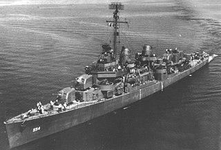 USS <i>Franks</i> (DD-554)