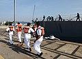 USS Freedom gets under way. (9095462574).jpg