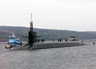 Ohio-class submarine - Image: USS Louisiana (SSBN 743)