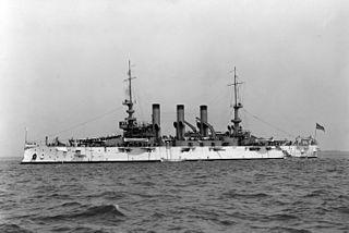 USS <i>Minnesota</i> (BB-22) Connecticut-class pre-dreadnought battleship of the United States Navy