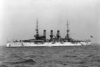 USS Minnesota (BB-22) - Image: USS Minnesota (BB 22)
