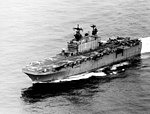 USS Tarawa (LHA-1) underway in the Pacific Ocean in March 1979.jpg