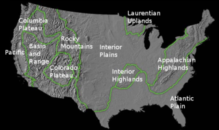 Geology of the United States Regional geology