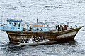 US Navy 031220-N-0000X-001 U.S. Navy boarding team takes control of a dhow in the Arabian Sea, seizing drugs and detaining the crew.jpg