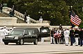 US Navy 040611-N-1810F-005 Members of the Armed Forces Ceremonial Honor Guard place President Ronald Reagan's casket into a hearse which will carry his remains to the grounds of the Washington National Cathedral.jpg