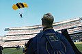 US Navy 041204-N-9693M-009 Black Knights parachute team demonstratoin at 105th Army Navy game.jpg
