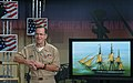 US Navy 050908-N-2383B-002 Chief of Naval Operations Adm. Mike Mullen addresses the Navy's ongoing participation in Hurricane Katrina relief efforts.jpg