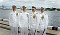 US Navy 070508-N-0696M-188 Chief of Naval Operations (CNO) Adm. Mike Mullen, Adm. Gary Roughhead, Adm. Robert F. Willard, and Adm. Timothy J. Keating, pose for photos.jpg