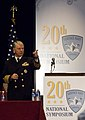 US Navy 080115-N-8273J-068 Chief of Naval Operations (CNO) Adm. Gary Roughead answers questions during the 20th annual Surface Navy Association symposium.jpg