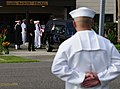 US Navy 090814-N-1644C-001 The Sailors of Naval Air Station Jacksonville gave their final salute to Navy Captain Michael Scott Speicher in front of All Saints Chapel.jpg