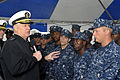 US Navy 100628-N-3548M-099 Chief of Naval Operations (CNO) Adm. Gary Roughead speaks with Sailors.jpg