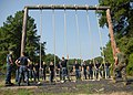 US Navy 100809-N-3857R-006 U.S. Naval Academy midshipmen navigate through the Naval Support Activity Annapolis obstacle course.jpg