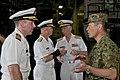 US Navy 110713-N-ER662-150 Rear Adm. Scott Jones discusses ship operations with Japan Self-Defense Force officers.jpg