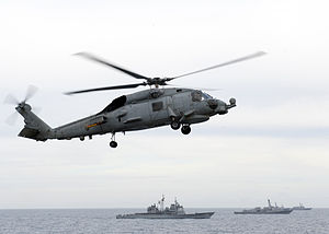 US Navy 120123-N-JL826-229 The Enterprise Carrier Strike Group maneuvers into formation.jpg