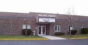 University of Wisconsin–Sheboygan - Image: UW Sheboygan Fine Arts Theatre
