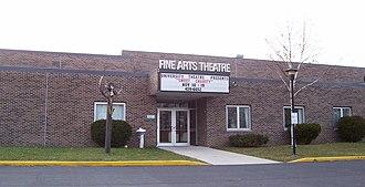 UW–Green Bay, Sheboygan Campus - Image: UW Sheboygan Fine Arts Theatre