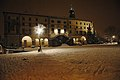 Udine castle by night under snow.jpg