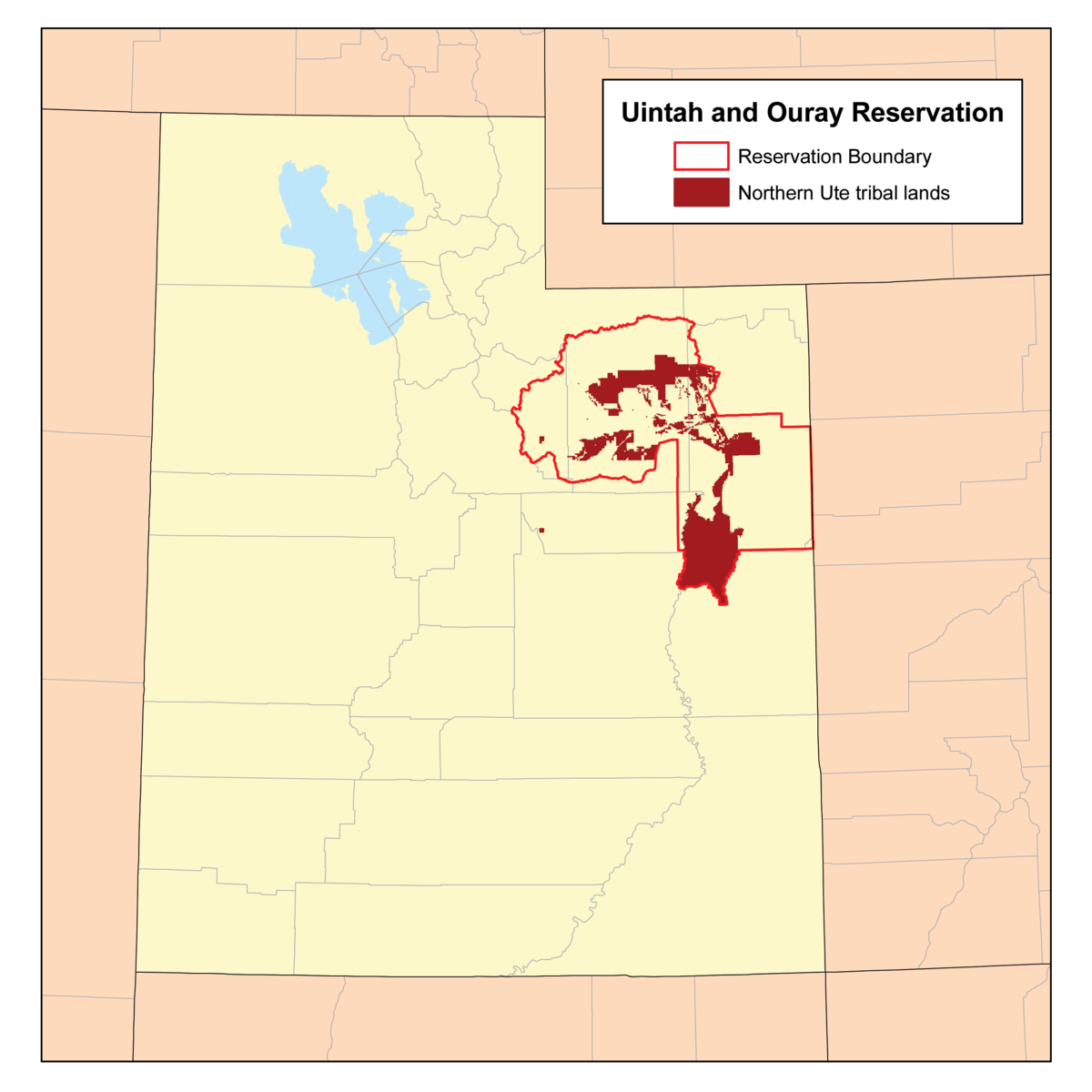 Uintah And Ouray Indian Reservation  Wikipedia