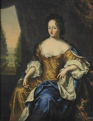 Ulrika Eleonora of Denmark - Ulrika Eleonora by David Klöcker Ehrenstrahl 1686