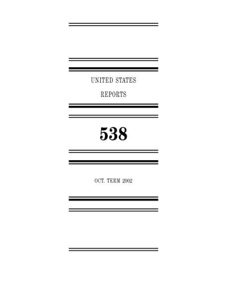 File:United States Reports, Volume 538.djvu