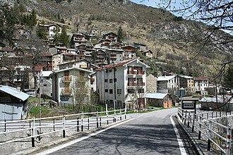 Briga Alta - the town of Briga Alta