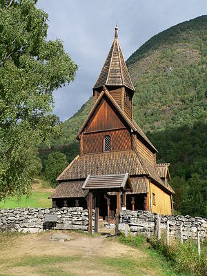 Urnes Stave Church - Image: Urnes Stave Church 2