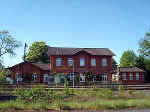 Bahnhof Uslar, Quelle Wikipedia
