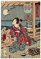 Utagawa Kunisada II - Courtesan at Moon-viewing Party.jpg