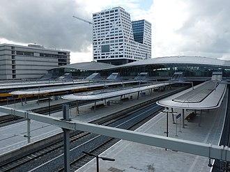 Utrecht Centraal railway station - Utrecht Centraal in 2017