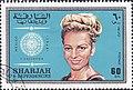 Věra Čáslavská 1969 Sharjah stamp.jpg