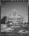 VIEW NORTH, SOUTH ELEVATION - John Dickinson Mansion, Feed Barn, Kitts Hummock Road, Dover, Kent County, DE HABS DEL.1-DOV.V,1-A-9.tif