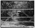 VIEW WEST OF WEST TRUSS SEGMENT - Deer Creek Bridge, Spanning Deer Creek at Township Road 406, Geff, Wayne County, IL HAER ILL, 96-GEFF. V, 1-7.tif