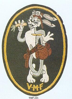 VMFA-121 - Squadron's logo when it was VMF-121