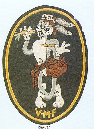 VMFA-121 - Squadron's logo when it was VMF-121