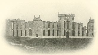 Valley Campaigns of 1864 - The ruins of the Virginia Military Institute after Hunter's Raid in 1864.