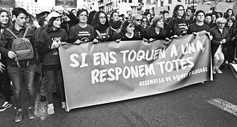 Vaga feminista del 8 de Març a València (2019, País Valencià) 2.jpg