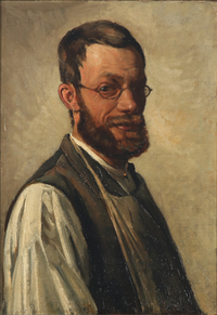 Valdemar Irminger - Selvportræt - 1883.png