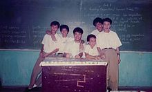 Gatchalian's elementary days in Grace Christian High School